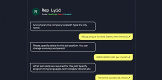 This chatbot protects you from requests from intrusive recruiters