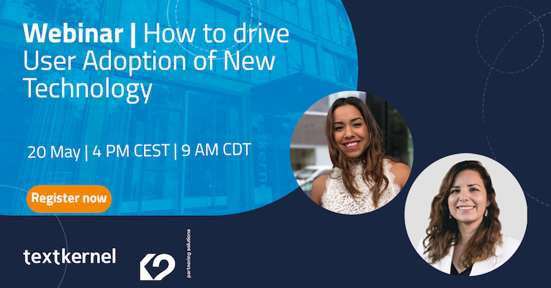 Webinar   How to drive User Adoption of New Technology
